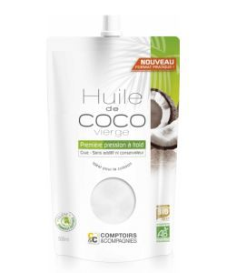 Huile de coco vierge BIO, 500ml