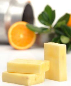 Savon au lait de chèvre - Beurre de karité - Orange douce, 100g