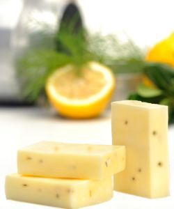 Savon au lait de chèvre - Beurre de karité - Verveine, 100g