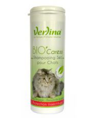 Shampooing sec Chat Bio'Caress - Protection insectifuge