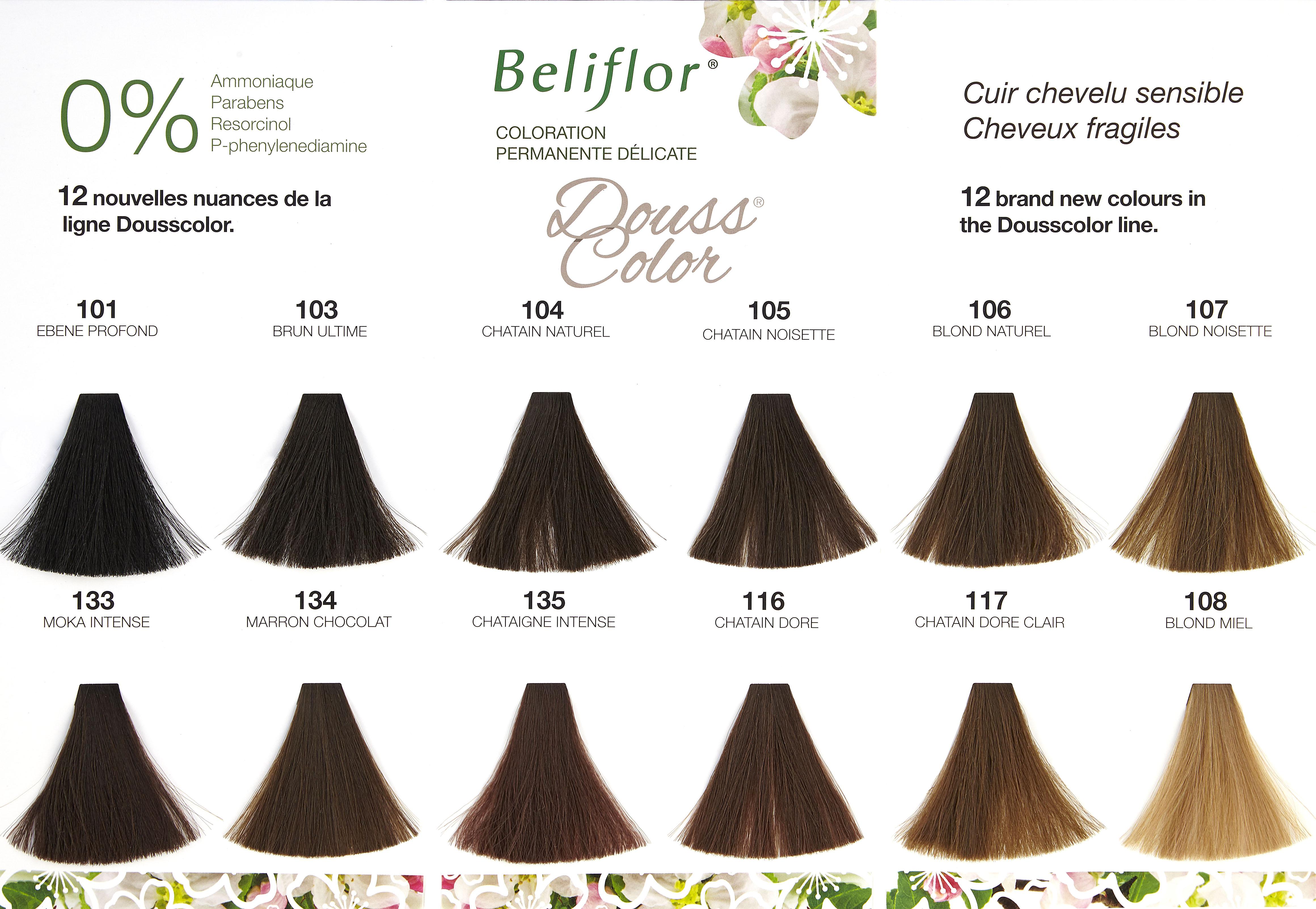Dousscolor 108 Blond Miel Coloration Douce Beliflor